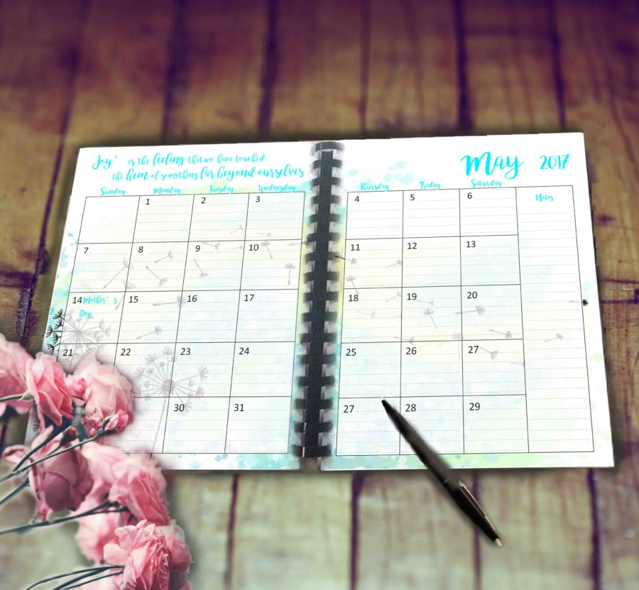 May planner feature image