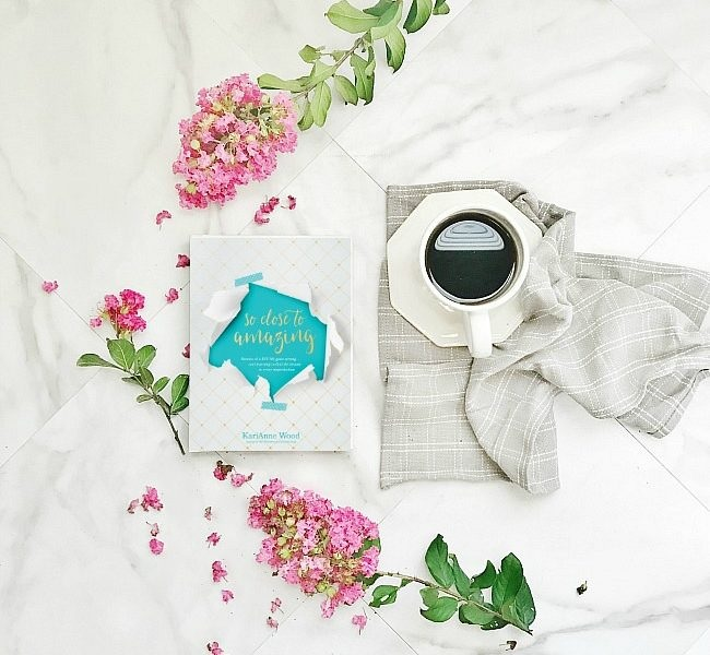 Thistlewood Farms So Close To Amazing Book Photo with flowers